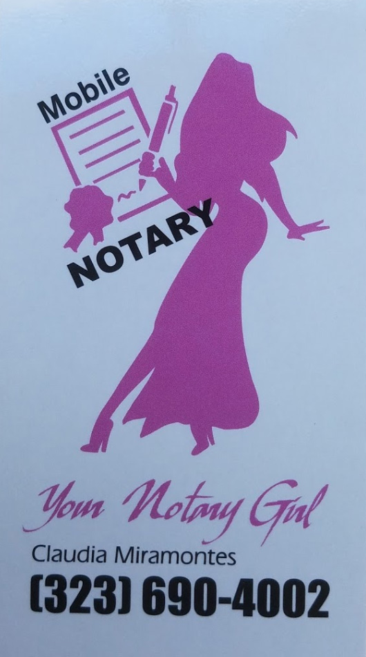 Contact Your Notary Girl
